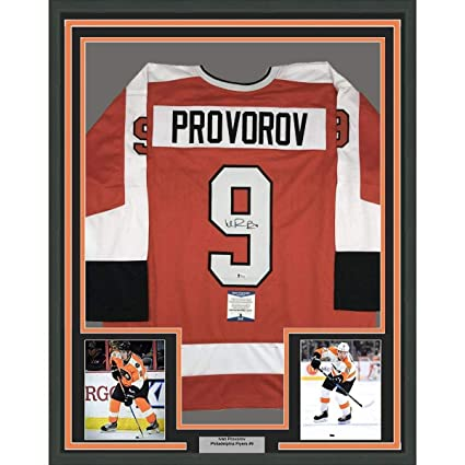 Image Unavailable. Image not available for. Color  Autographed Ivan  Provorov Jersey ... 71492d8ee