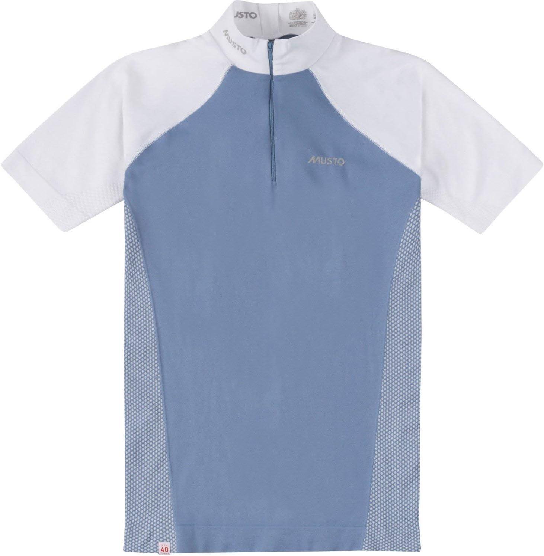 Musto Camisa Performance Mujer Stock Azul Perla/Blanco: Amazon.es: Deportes y aire libre