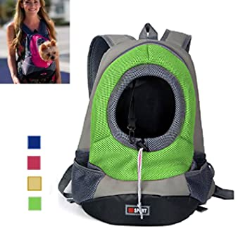 Dog Backpack Carrier - AsiaLONG Portable Dog Front: Amazon.co.uk ...