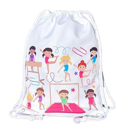 Mochila HECKBO® para niñas, bolsa de ballet de algodón ...