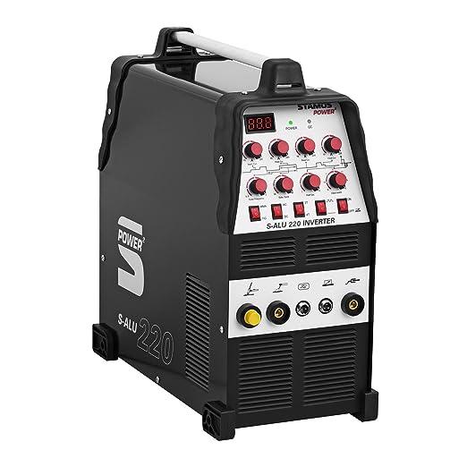 Stamos Power - S-ALU 220 - Soldador de aluminio - 200 A - 230 V - Pulso - 2/4 Tiempos - Envío Gratuito: Amazon.es: Industria, empresas y ciencia