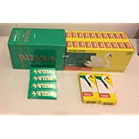Rizla Green Rolling Papers and Swan Extra Slim Filter Tips (600)
