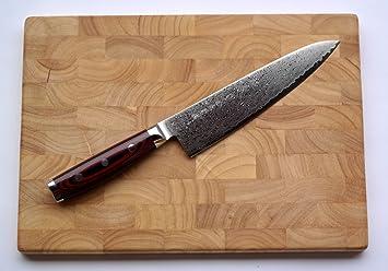 Compra Yaxell Super Gou 161 - Cuchillo de cocina de Damasco ...