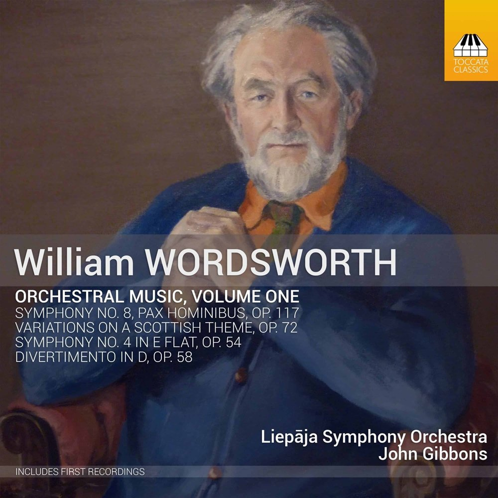 Wordsworth: Orchestral Music, Vol. 1 by Toccata