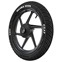Ceat Secura Zoom 2.75-18 42P Tube-Type Bike Tyre, Front (Home Delivery)