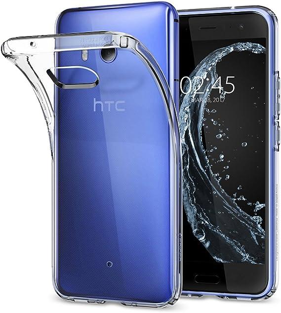 Spigen Funda HTC U11, Carcasa [Liquid Crystal] Protección Delgada y Claridad Premium para HTC U11 [Transparente]: Amazon.es: Electrónica