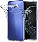 HTC U11 Hülle, Spigen® [Liquid Crystal] Soft Flex Silikon [Crystal Clear] Transparent Ultra Dünn Schlank Bumper-Style Handyhülle Premium Kratzfest TPU Durchsichtige Schutzhülle für HTC U11 Case Cover - Crystal Clear (H11CS21939)