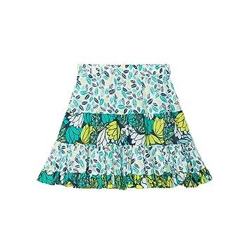 Falda con volantes (algodón, Elisa multicolor multicolor Talla:2 ...