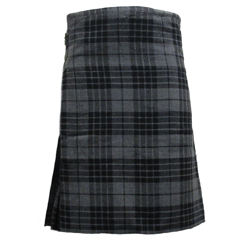 Tartanista - Scottish Highland Kilt für Alltag - 4,6m/284g (5 Yard/10 oz) - Granitgrau