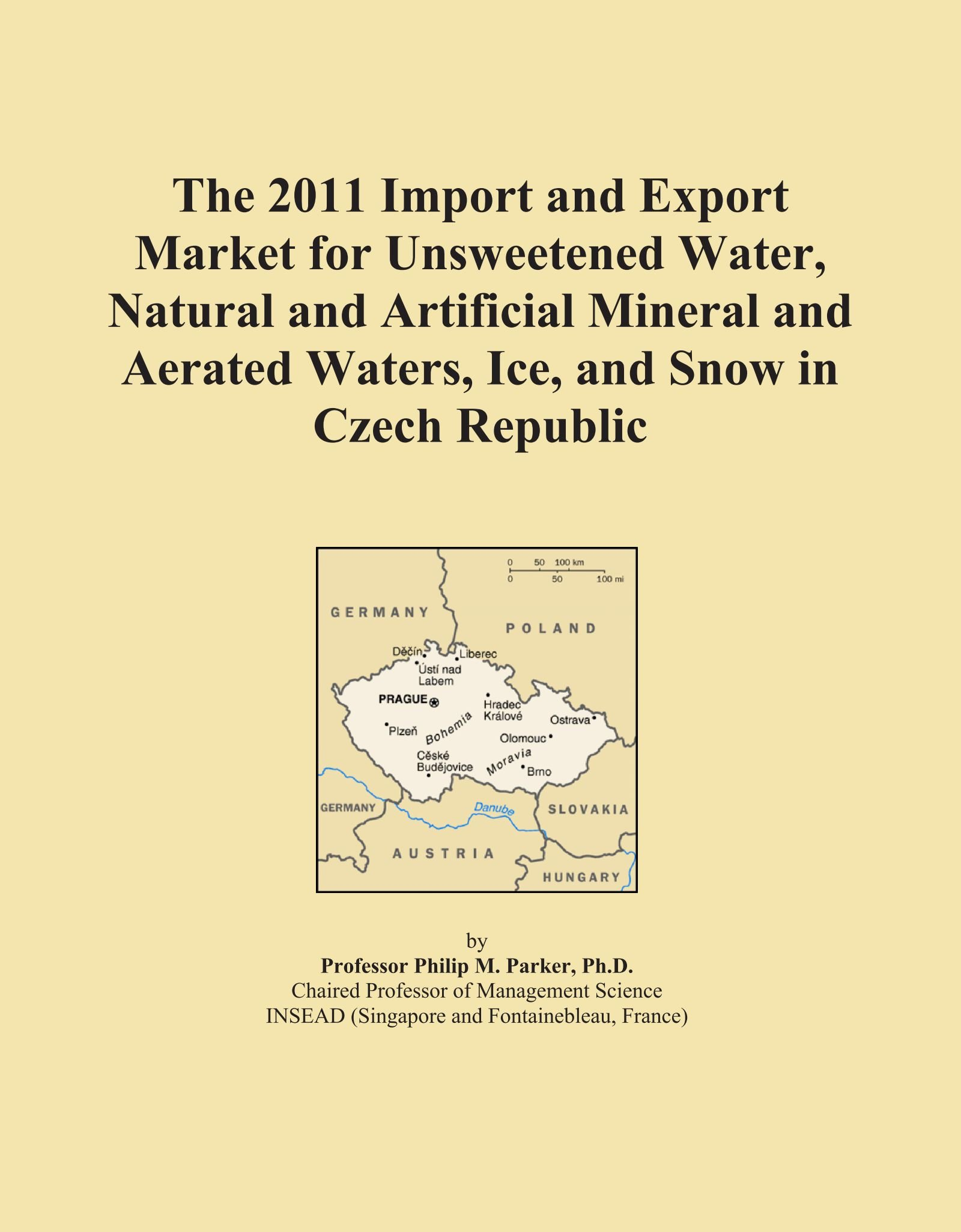 The 2011 Import and Export Market for Unsweetened Water, Natural and Artificial Mineral and Aerated Waters, Ice, and Snow in Czech Republic pdf