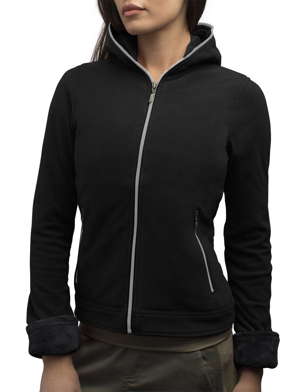SCOTTeVEST Chloe Hoodie- 14 Pockets - Travel Clothing, Pickpocket Proof MGC L