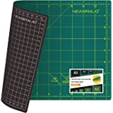 NEWBRAUG 9'' × 12'' Professional Self Healing Cutting Double Sided 5-Ply Mat, Best Gridded Rotary Cutting Board for…