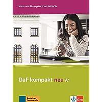 DaF kompakt neu a1, libro del alumno y libro de ejercicios: Kurs- und Ubungsbuch A1 + MP3-CD