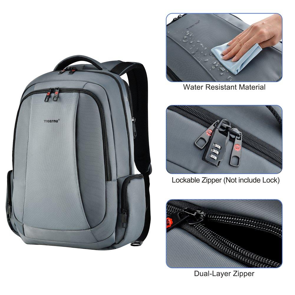 Kopack Kt 01 Anti Theft Slim Business Laptop Backpack- Fenix ... b21fc6127302a
