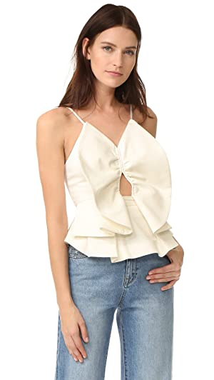 C/Meo Collective Women's Little World Top, Ivory, Medium