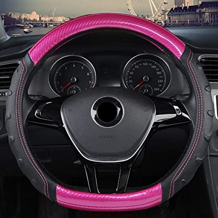 Diseño cubierta del volante de fibra de carbono antideslizante for ...