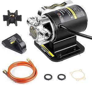 TACKLIFE Water Transfer Pump, 1/10HP 3/4