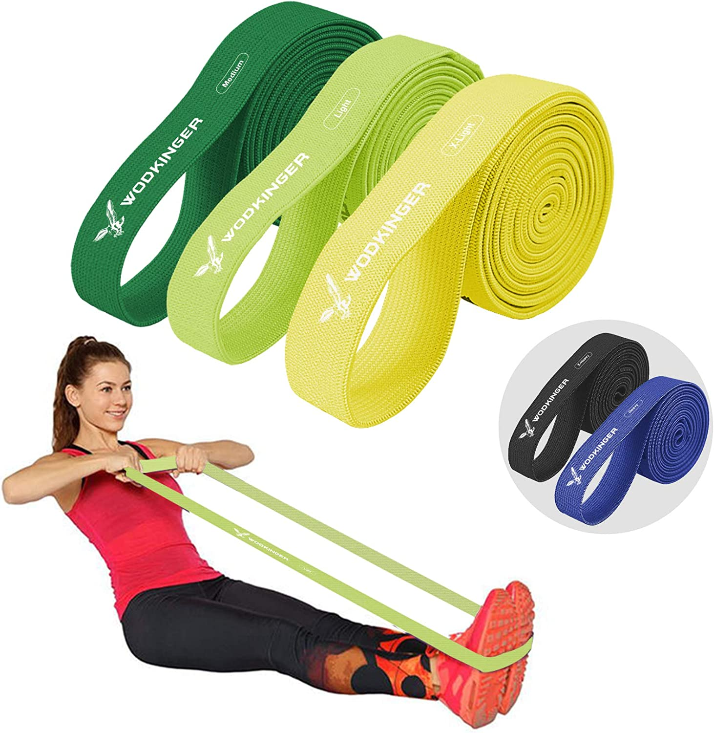 Latex Resistance Streching Band Pull Up Assist Bands Extra Heavy 5 Level