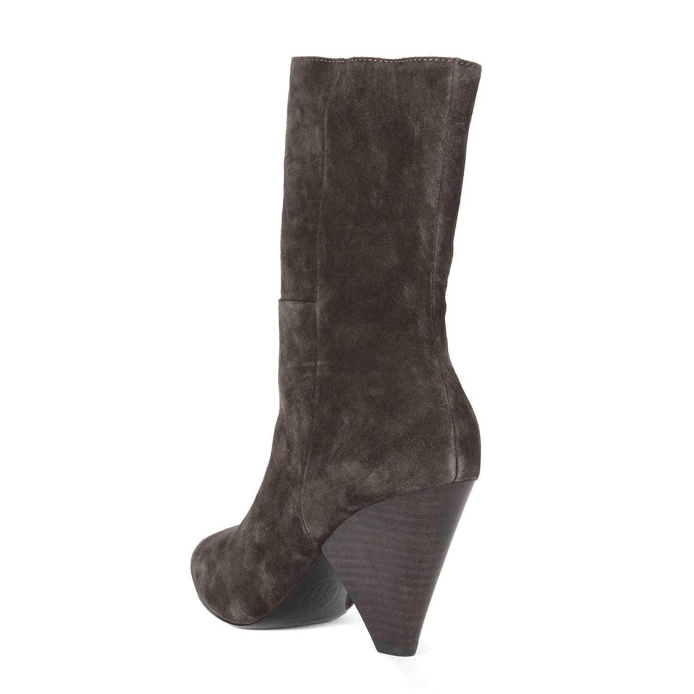 ASH Damen Damen ASH Doll Wildleder Stiefel - mit Kegelabsatz 050078