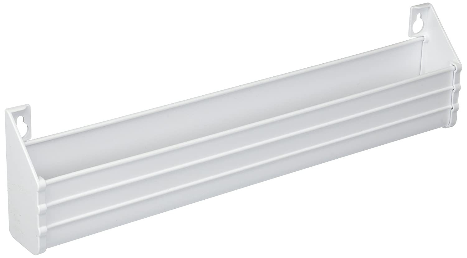 Rev-A-Shelf 14 in White Polymer Slim Series Tip-Out Tray 6542-14-11-52