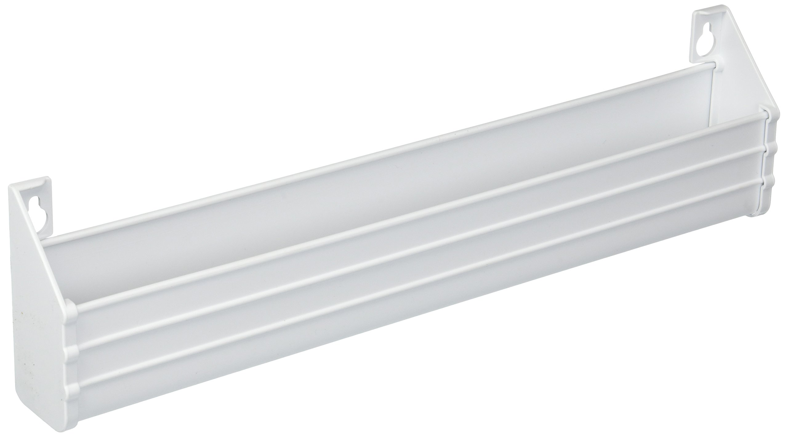 Rev-A-Shelf 14 in White Polymer Slim Series Tip-Out Tray, by Rev-A-Shelf