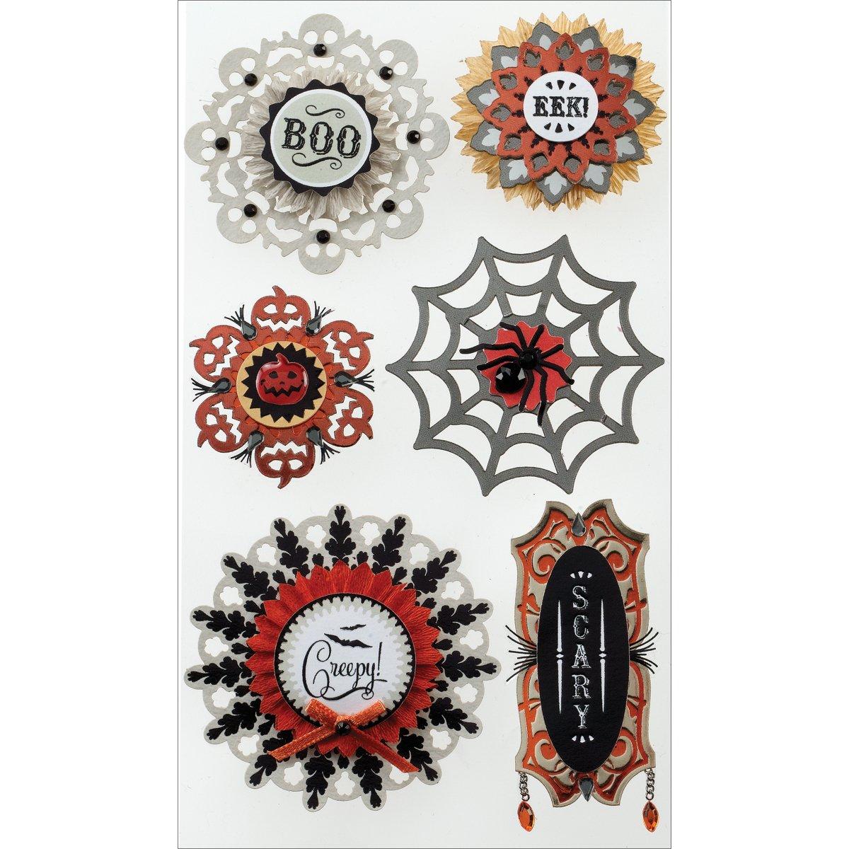 Jolee 's Boutique Dimensional Stickers, tamaño Grande, diseño de medallones