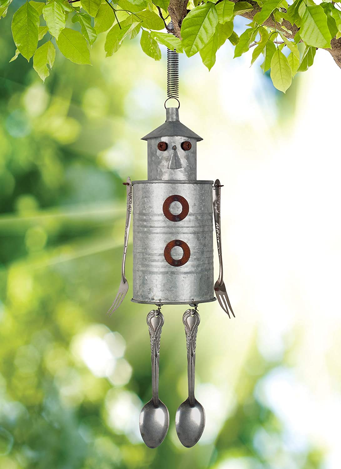 Sunset Vista Designs 14378 Small Tin Man Bouncy Hanging Decoration
