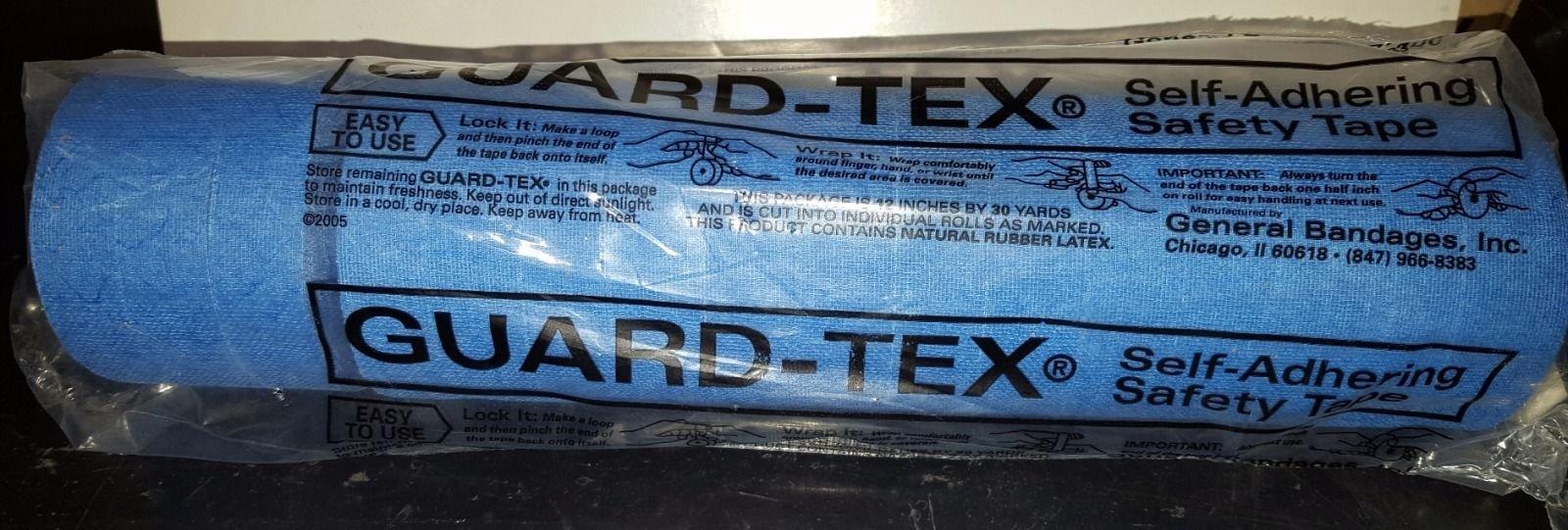 Guard-Tex ® Self-Adhering Safety Tape - General Bandage 3/4'' X 30 Yard Blue Guard-Tex ® Self-Adhering Safety Tape - 41408-3/4