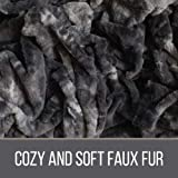 The Connecticut Home Company Luxury Faux Fur with