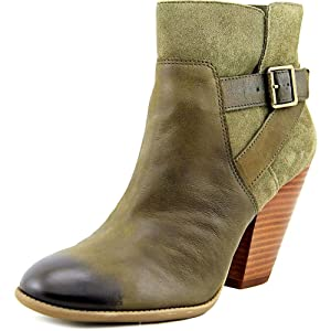 Sole Society Hollie Women US 7.5 Green Bootie