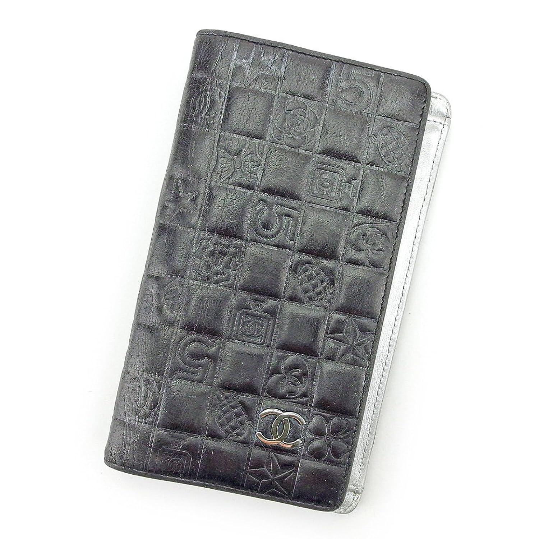 [シャネル] CHANEL 長財布 ファスナー付き 財布 レディース ココマーク アイコンシリーズ 中古 廃盤 T5525 B0797TK8BR