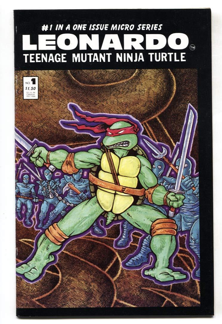 Amazon.com: LEONARDO THE TEENAGE MUTANT NINJA TURTLES #1 ...
