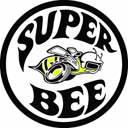 2a495a4a Amazon.com: ION Graphics Super Bee Rat Rod Old School Hot Rods Muscle Car  Vintage Performance Sticker: Automotive
