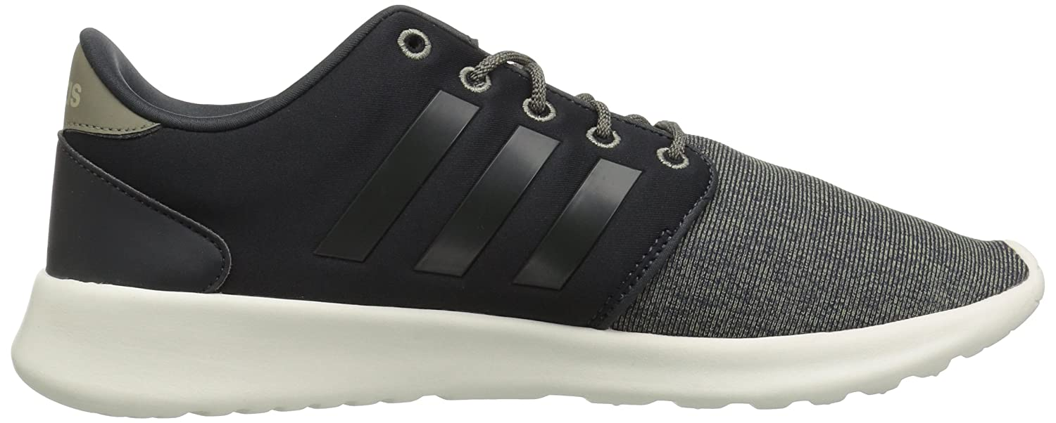 adidas Women's Cf Qt Racer Running Shoe B077XC663Y 5 B(M) US|Carbon/Carbon/Trace Cargo
