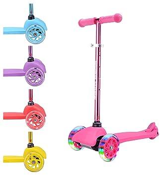 BOLDCUBE Patinete de Tres Ruedas Teeny - ULTRA Ligero 1.8 kg - Para niños de 2 a 6 años - Altura Manillar y Asas Ajustables - Amigable para viajes - ...