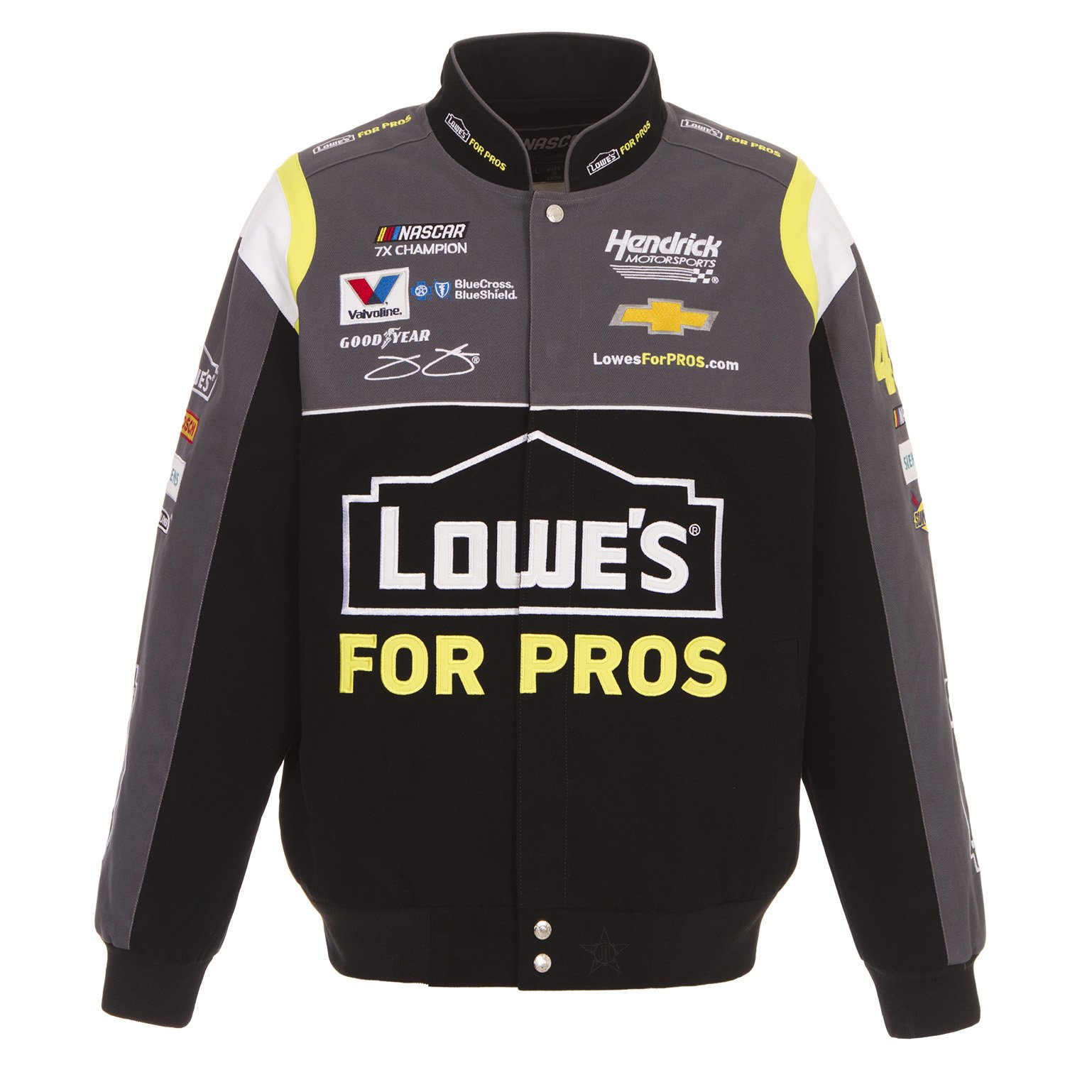2018 Jimmie Johnson Lowe's NASCAR Jacket Size Large