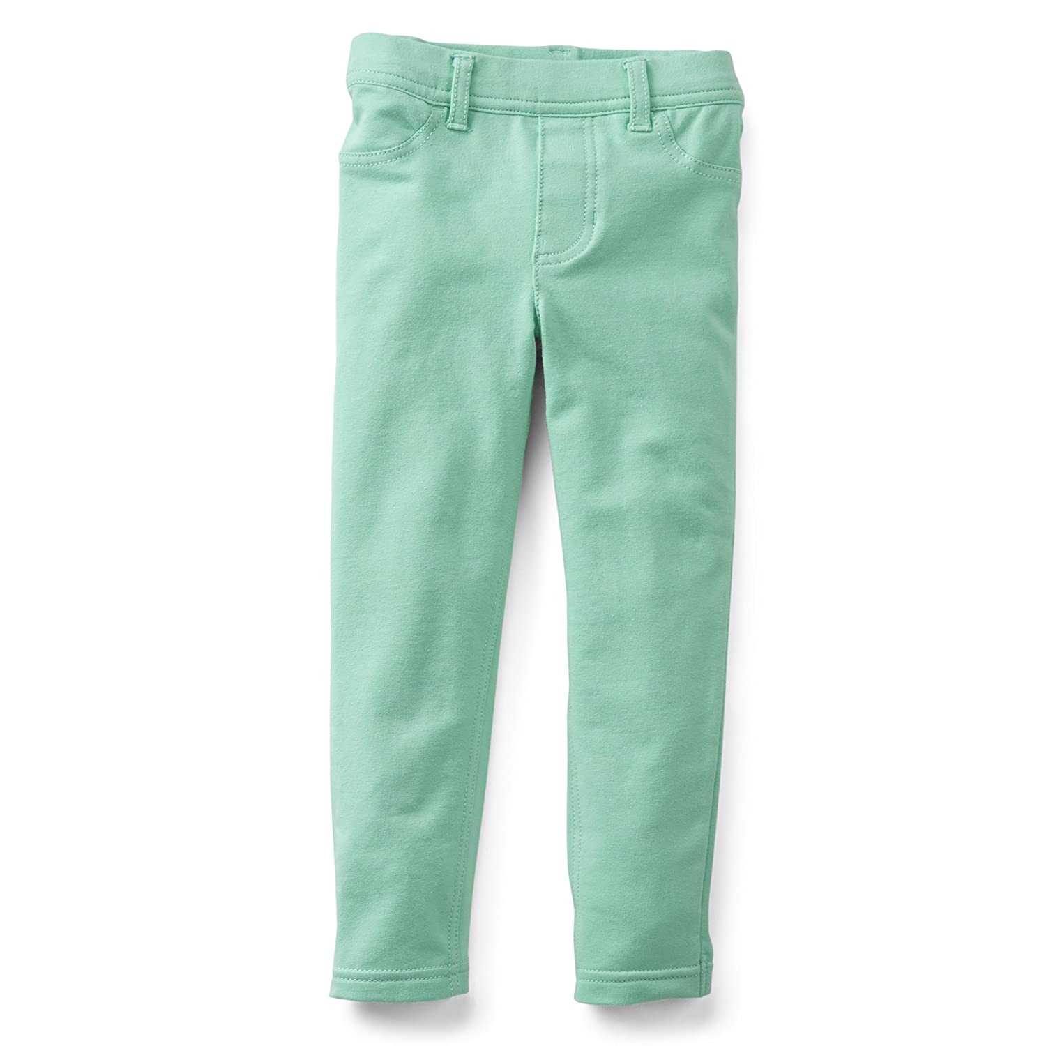 9 Months, Mint Carters Girls French Terry Stretch Skinny Pants
