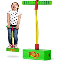 Swipply Jumping Toys Foam Pogo Jumper for Kids Fun and Safe Childs Pogo Stick for Toddlers Durable Indoor Outdoor Foam…