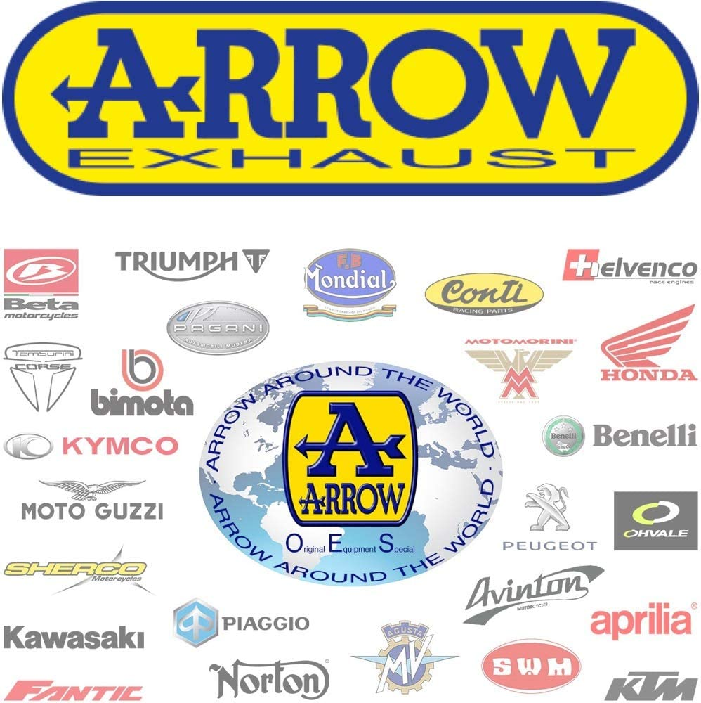 ARROW CONECTOR NO-CATALIZADO COMPATIBLE CON SUZUKI SV 650 2016 16 2017 17 2018 18 71646MI