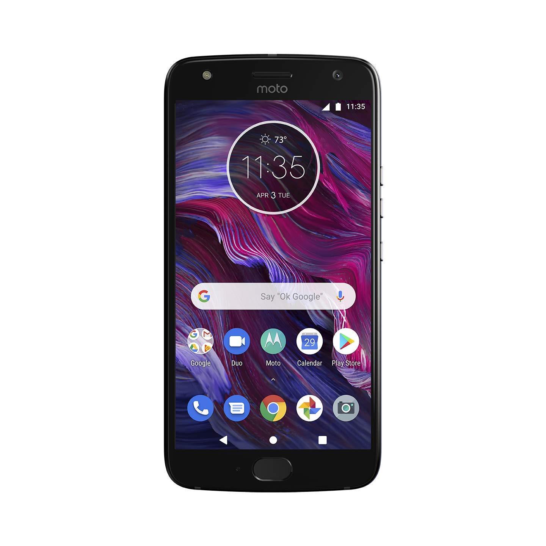 Moto X (4th Generation) - with Alexa hands-free – 32 GB - Unlocked – Super Black - Prime Exclusive