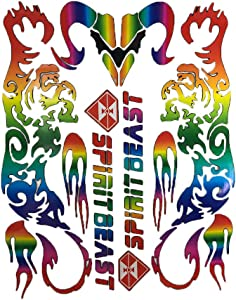 Free ArtiSafe Mechanisic Holic Rainbow Bumper Stickers