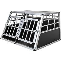 Jalano Doppel Hundetransportbox S Auto Gitterbox Hunde Alu Hundebox Kofferraum