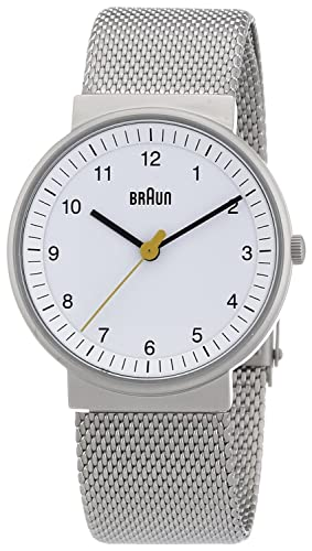Braun BN0031 - Reloj (Reloj de pulsera, Femenino, Acero inoxidable, 3.3 cm