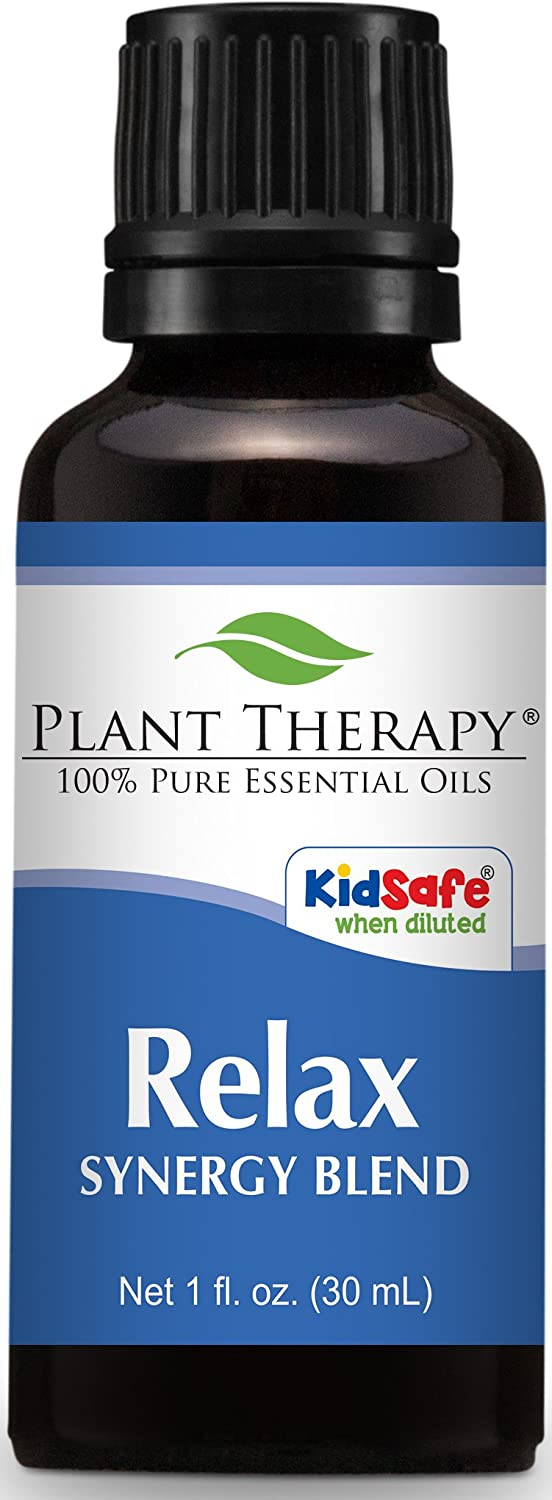 Plant Therapy Relax Synergy Essential Oil 30 mL (1 oz) 100% Pure, Undiluted, Therapeutic Grade Plant Therapy Inc