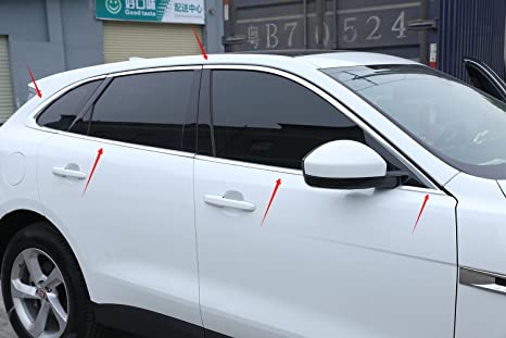 Para f-pace 2016 2017 cartucho de aleación de aluminio superior inferior de vehículo coche