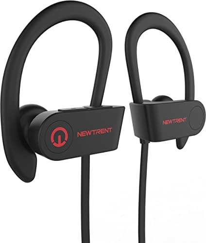 Bluetooth Headphones, New Trent Vigor Wireless Sports Earphones Mic Stereo in Ear Earbuds for Workout Headsets