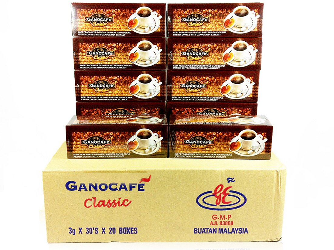 30 BOXES Gano Cafe Ganocafe Classic - Ganoderma Healthy Black Coffee FREE EXPEDITED SHIPPING 2 - 3 DAYS by Gano Excel