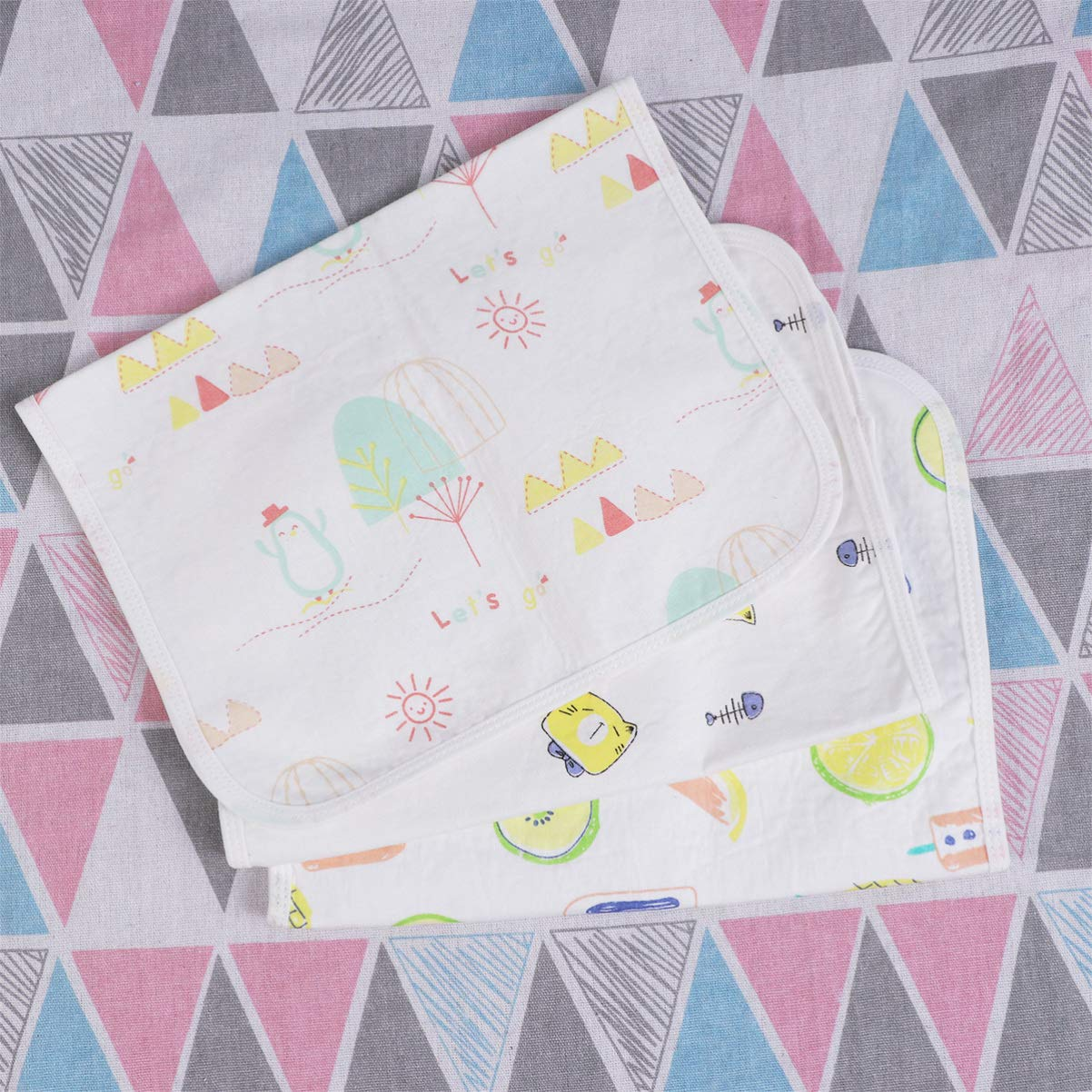Artibetter 3PCS Portable Baby Changing Pad Diaper Mat for Travel Strollers Toddler