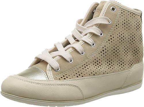 Geox Damen D New Moena C Sneaker: : Schuhe