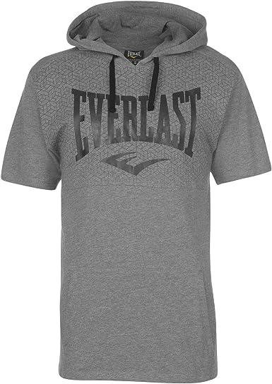 Everlast Hombre Hooded Camiseta Manga Corta: Amazon.es: Ropa y ...